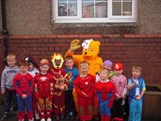 Boys Reception With Pudsey